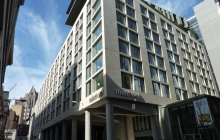 SSG Maxberg® Jura Kalkstein Fassade Minthotel
