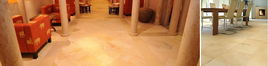 SSG Natursteine für Boden und Wand