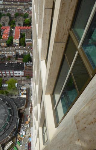 SSG Maxberg® Jura Kalkstein Fassade, First Rotterdam