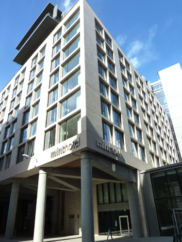 SSG Maxberg® Jura Kalkstein Fassade, Mint Hotel