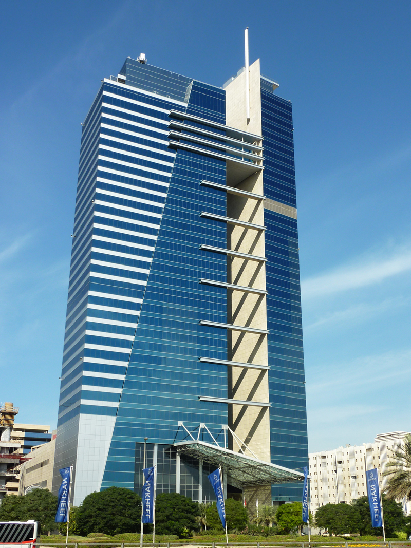 Capital Tower in Dubai - SSG Solnhofen