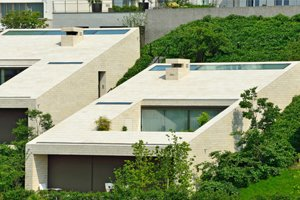 Bauhausvilla mit Naturstein - SSG Solnhofen